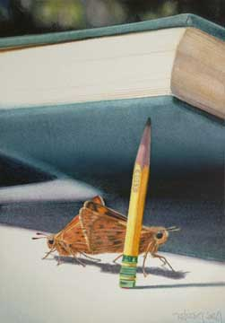 Prop, 2008, watercolor